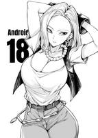 Android 18 by HentaiAnyday