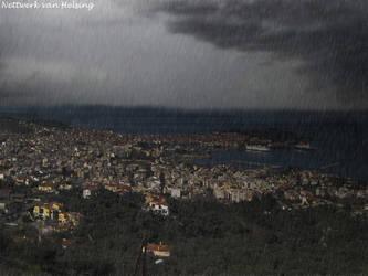 Bad weather in Mytilene by nettwerk