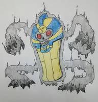 Cofagrigus by KingKradiel