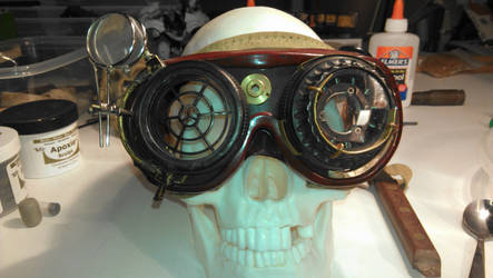 Steampunk Goggles by tophoo