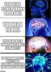 Yanny vs. Laurel by TheLOLMinecrafter