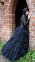 ...Gothic Queen IV... by Black-Ofelia-Stock