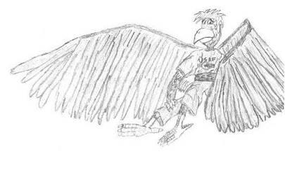 Eagle Dude by jamez88