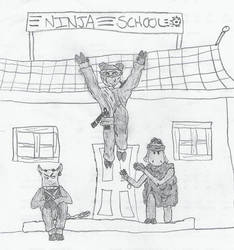 Ninjas by jamez88