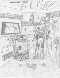 R2 and C3PO by jamez88