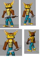 Ratchet, in 3D by jamez88