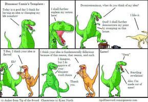 Dinosaur Fancomic by jamez88