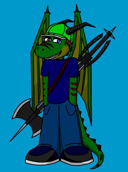 Me, but as dragon by jamez88