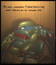TMNT - There's this wall... by xSkyeCrystalx
