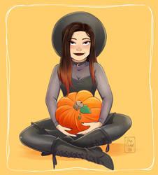 .: Pumpkin Season :. by xSkyeCrystalx