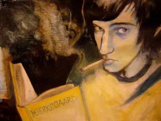 portrait of Tomasz Wisniewski by JuliuszLewandowski