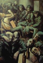 Germans drinking by JuliuszLewandowski