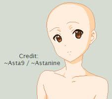Base: K-ON Ritsu by Asta9