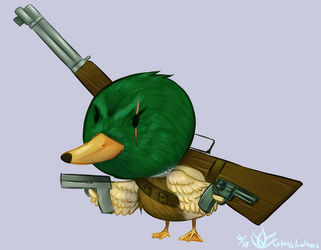 Say Duck Hunt One More Time by GlassLotuses