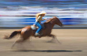 Barrel Racing by Weesna8000