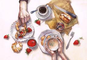 Breakfast by NatalikaTravina