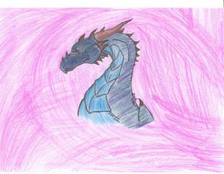 Dragon head view by Mistchan488