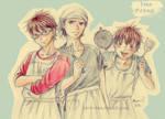 Ace of Cooking! - Team Ace of Diamond by Kuri-kuu