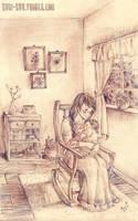 Mother's arms by Kuri-kuu
