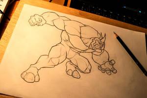 Rhino by IgnacioRC