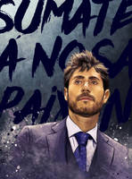 'Deportivo' team coach Illustration by IgnacioRC