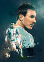 Sport illustration - Messi by IgnacioRC