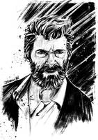 Logan ink sketch by IgnacioRC
