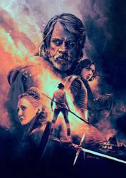 Star Wars: The Last Jedi by IgnacioRC