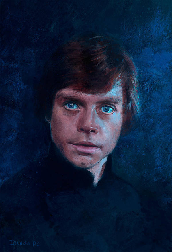 Luke Skywalker by IgnacioRC