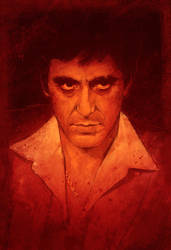 Al Pacino - Scarface by IgnacioRC