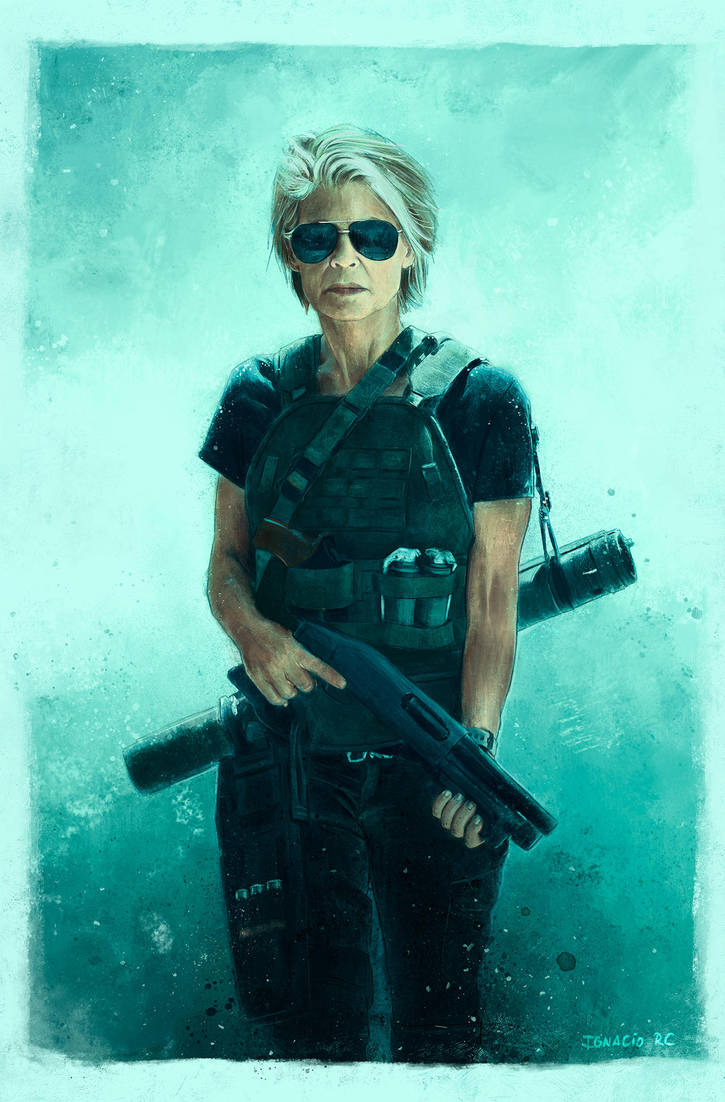 Sarah Connor by IgnacioRC