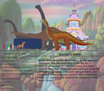 The Land Before Time Species Chart 34: Camarasaur by jongoji245