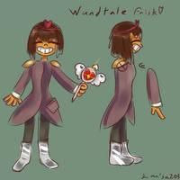 wandtale frisk by larisa203