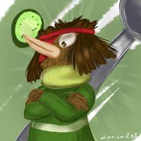 Kiwi the guardian by larisa203