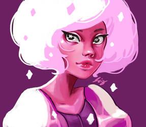 Pink Diamond by laisdossin