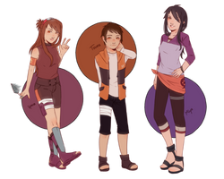 GenHatsu kids by mochibii95
