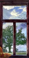 Outside.. by Akira-Miyashi