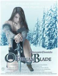 Obsidian Blade - T'Nallae by Akira-Miyashi