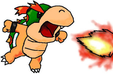 Baby Bowser by MudCatWarrior