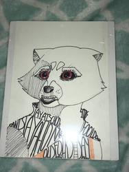 Rocket Raccoon  by oXGoldFinchXo