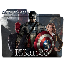 Captain America: The First Avenger Icon by KSan23