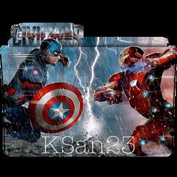 Captain America: Civil War Icon by KSan23