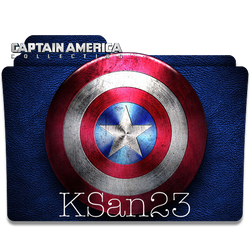 Captain America Collection Icon by KSan23