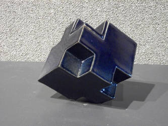Blue Cube by AGMorgan
