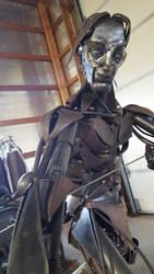 Sculpture Selfie by AGMorgan