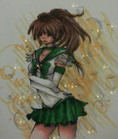sailor Jupiter by PandoraBunneh