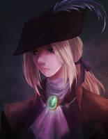 Bloodborne: Lady Maria by Izzu-shi