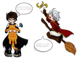 HP meets DGM ZOMG by Cobyfrog