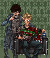 BBCHolmes: Holiday Cheer by Cobyfrog