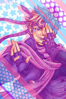 JJBA: Patterned and Pasteled by Cobyfrog